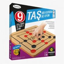 9 Taş 3 Taş Oyunu