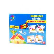 Laço Kids Eğitici Hafıza Oyunu İngilizce Öğreniyorum