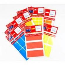 Tanex Etiket Ofc-122 40X100 Kırmızı 5 Li