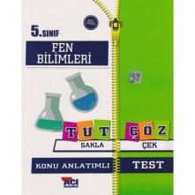 Açı 5.Sınıf Fen Bilimleri Tut Sakla Çöz Test