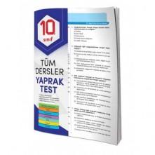 Element 10.Sınıf Tüm Dersler Yaprak Test