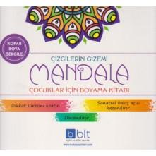 Çizgilerin Gizemi Mandala Boyama