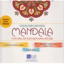 Çizgilerin Büyüsü Mandala Boyama
