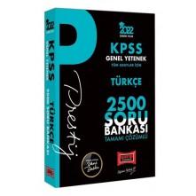 Yargı Kpss Türkçe Prestij Serisi Tamamı Çözümlü 2500 Soru