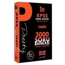 Yargı Kpss Tarih Prestij Serisi Tamamı Çözümlü 3000 Soru