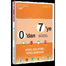 Tonguç 7.Sınıf 0'dan 7'ye Sözel Konu Soru