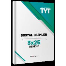 Tonguç Marka Tyt Sosyal Bilimler 3X25 Deneme