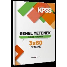 Tonguç Marka Kpss Genel Yetenek Türkçe Matematik 3X60 Deneme
