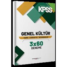 Tonguç Marka Kpss Genel Kültür 3X60 Deneme