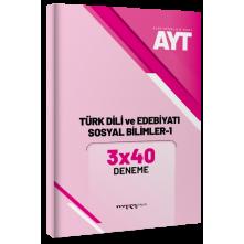 Tonguç Marka Ayt Türk Dili Ve Edebiyatı Sosyal Bilimler-1 3X40 Deneme