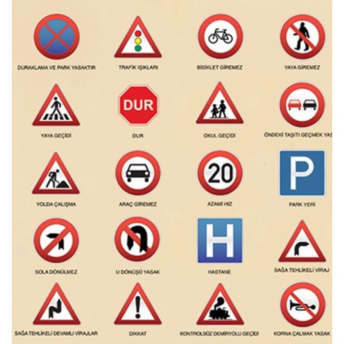 Sembol Trafik Isaretleri