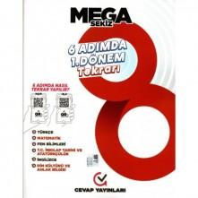 Cevap Yayınları 8.Sınıf LGS 6 Adımda 1.Dönem Tekrarı