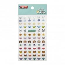 Bigpoint Sticker Hayvan Yüzleri